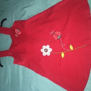 Other - Vibrant Red Ruby Toddler Dress